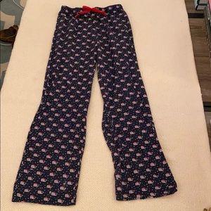 Vineyard Vines Girls Christmas Lounge Pants Size S
